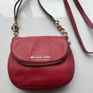 Authentic Michael Kors Crossbody - Red
